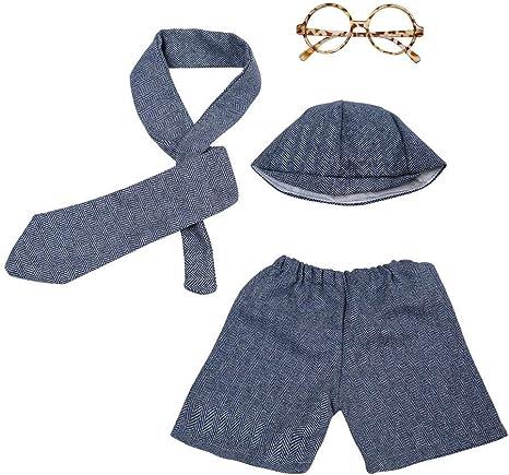 Ropa de la fotografía del bebé, Sombrero Corbata Pantalones Gafas ...