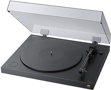 Sony PSHX500 - Tocadiscos con Capacidad para convertir a Audio, Dos velocidades, Negro