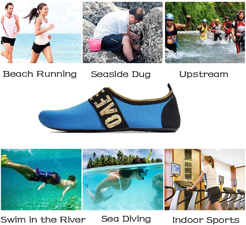 Homme de l/'eau Chaussures Pieds Nus Natation Surf Yoga Sports Offshore Séchage Rapide Piscine Plage