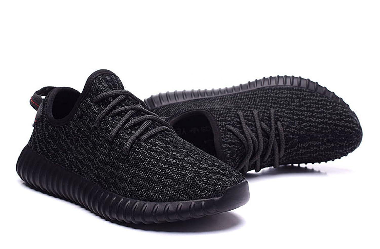 df19f3ab7 ... czech adidas men yeezy boost 350 pirate black full black 45 45.5 m eu  10.5 fm