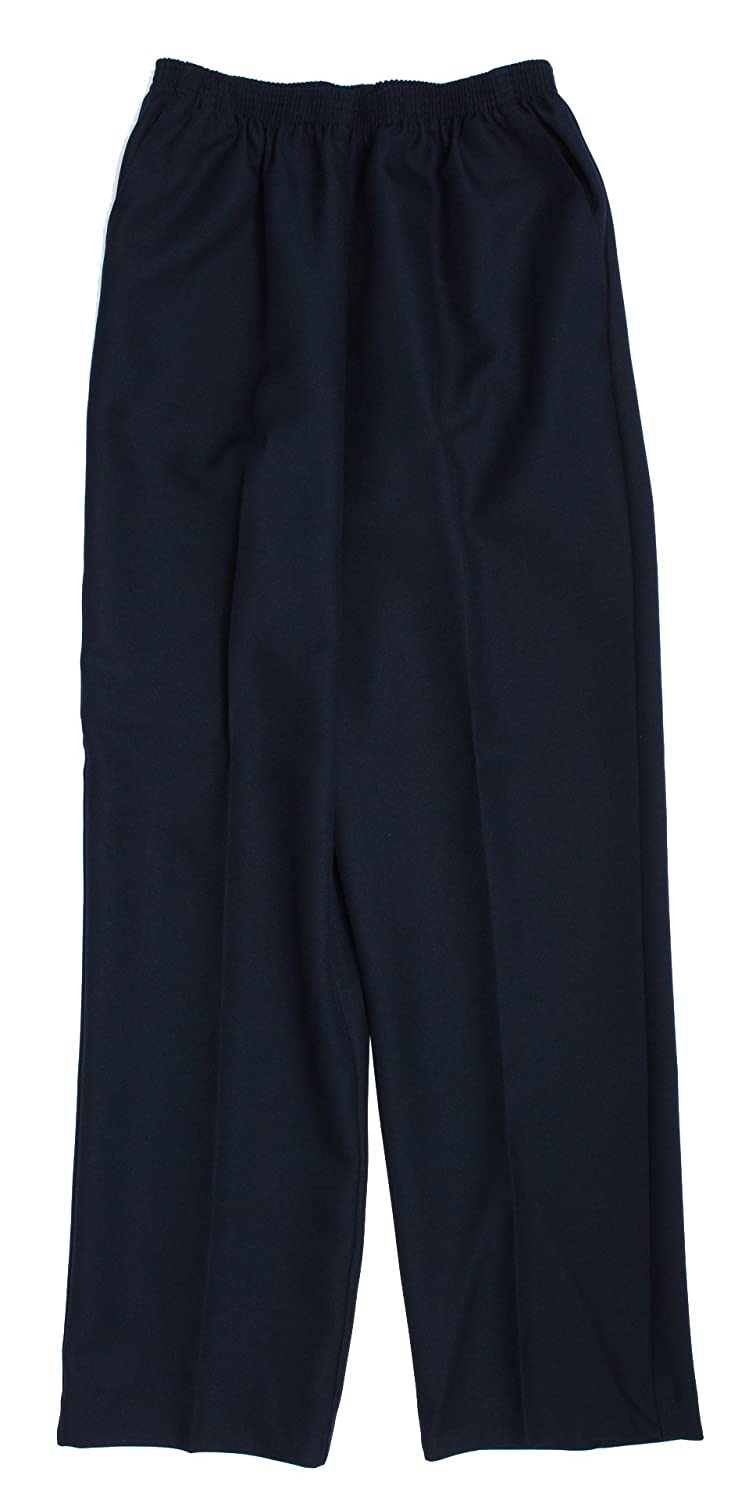 Alfred Dunner Petites' Pull-on Flat-Front Pants 09300