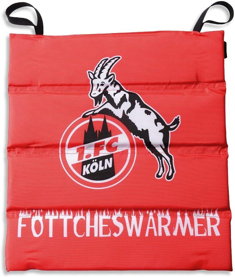 FC K/öln Klappsitzkissen 1 Stadionkissen Kissen Plus Lesezeichen I Love K/öln Sitzkissen