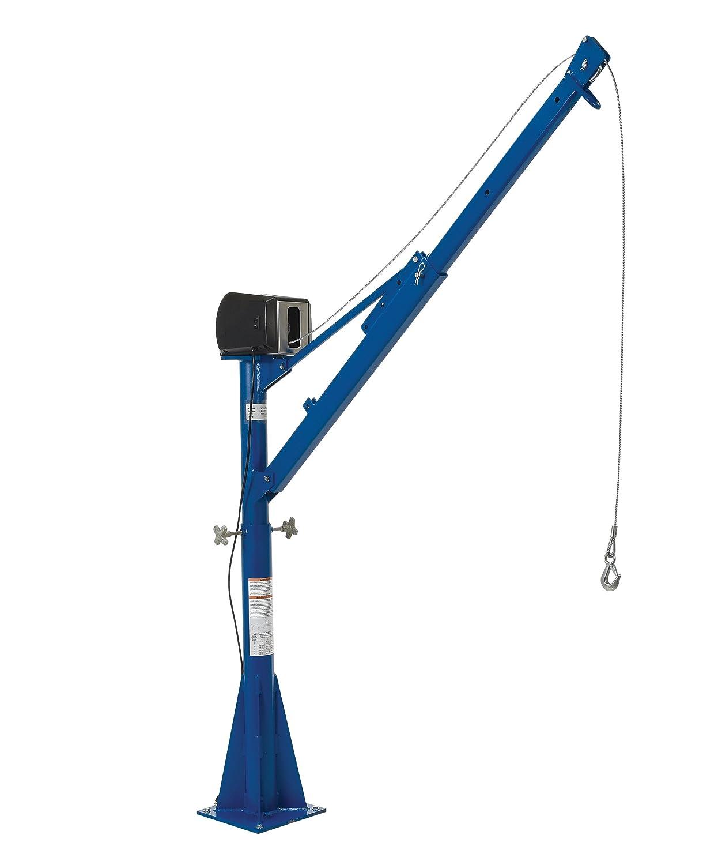 CSA Vestil WTJ-20-4-AC-CSA AC Powered Jib Crane Capacity 4-7 Boom 2000 lb
