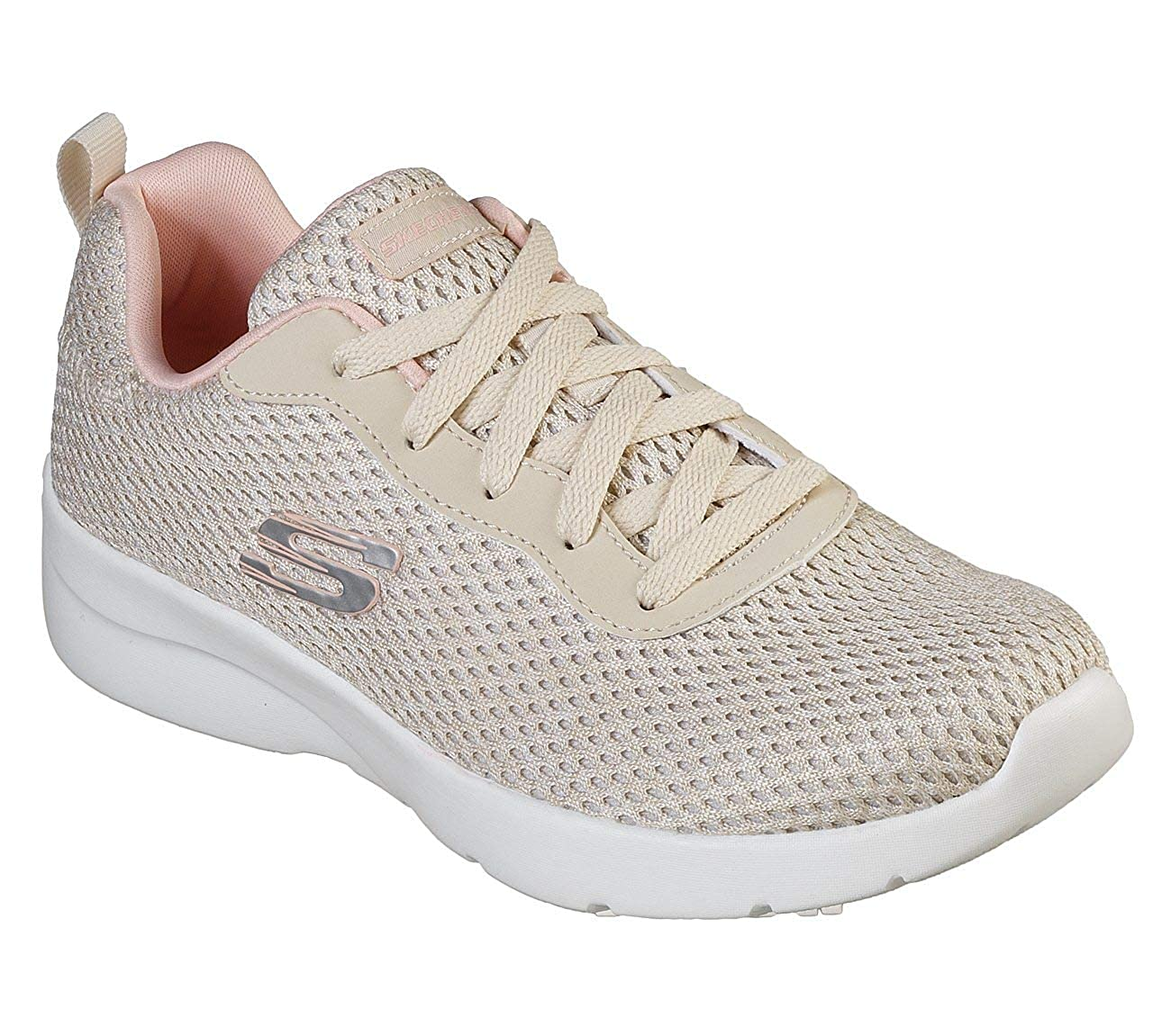 NATURAL CORAL Skechers Womens Dynamight 2.0-Quick Concept Sneakers