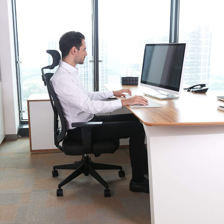 INTEY Bürostuhl von der Seite