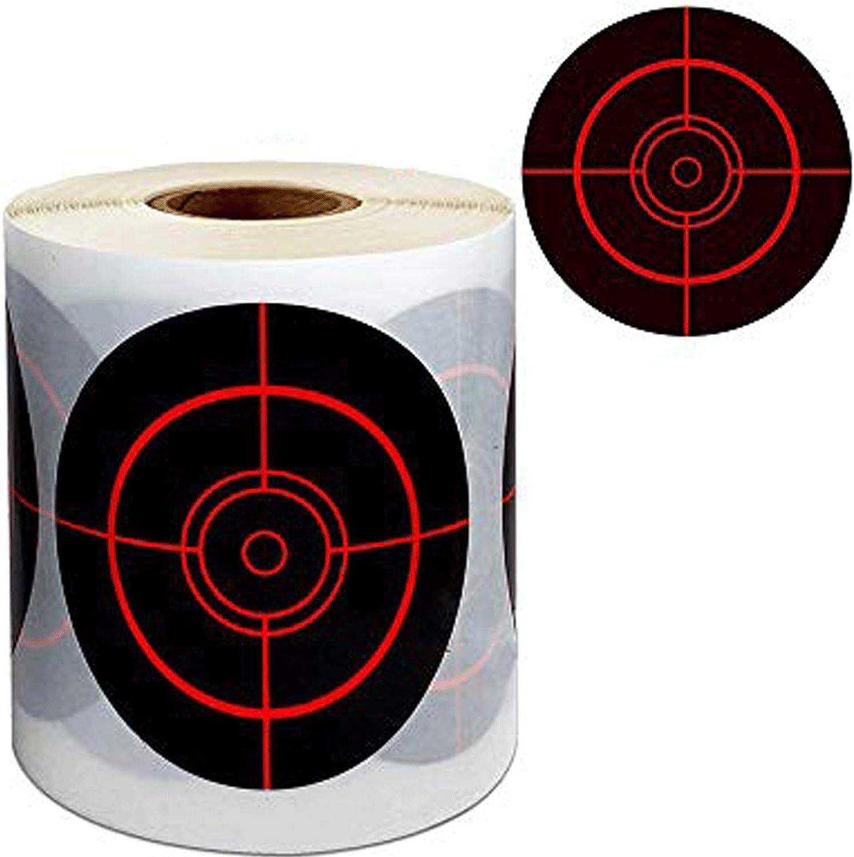 250 Splatter Target Stickers Roll - 3