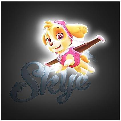 Lizzy® - Llavero con luz LED de PATROL de 7 cm para regalo ...