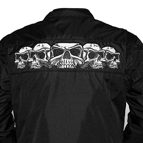 Amazon.com: The Savage Calaveras chamarra para hombre, XL ...