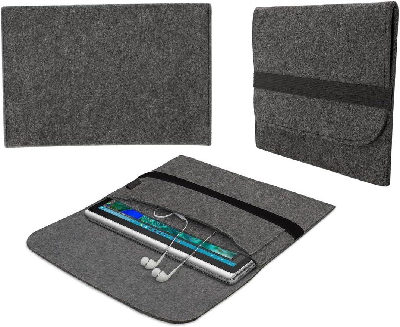 eFabrik Sleeve per Microsoft Surface Book 2 13.5 polici Caso Custodia di Protezione Feltro Grigio Microsoft Surface Book