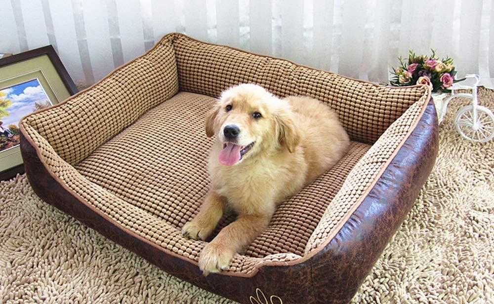 705522cm LLYU Four Seasons Kennel Washable pet Supplies pet nest Dog mat (Size   70  55  22cm)