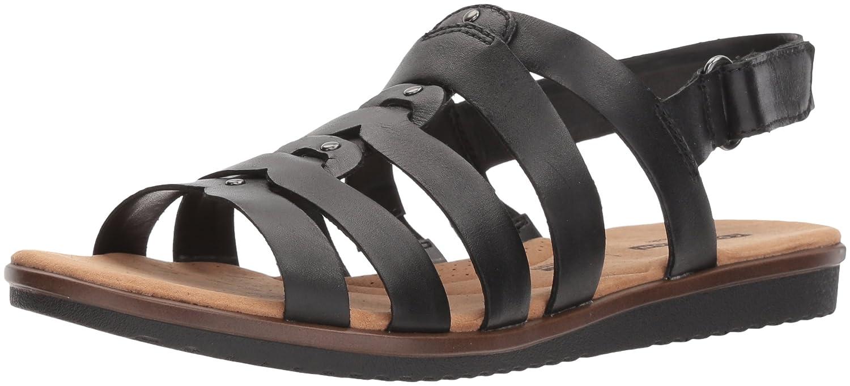 [クラークス] Women's W Kele Jasmine Women's Sandal [並行輸入品] B07FBQ8YJ8 ブラックレザー 6.5 W US|ブラックレザー ブラックレザー 6.5 W US, フィジカルグラフィティ:222eec04 --- sharoshka.org