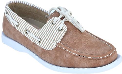 Mocassins barco, diseño marinero con interior de piel, Beige (beige), 41: Amazon.es: Zapatos y complementos