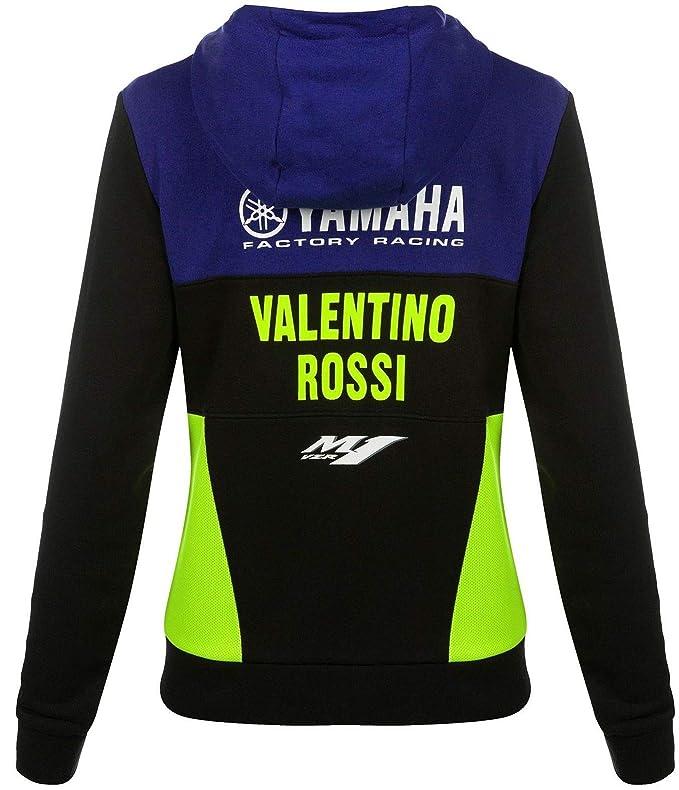 Yamaha VR46 Valentino Rossi - Chaqueta con Cremallera y ...