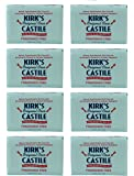 Kirk's Original Coco Castile Soap, Fragrance Free (8 Pack)