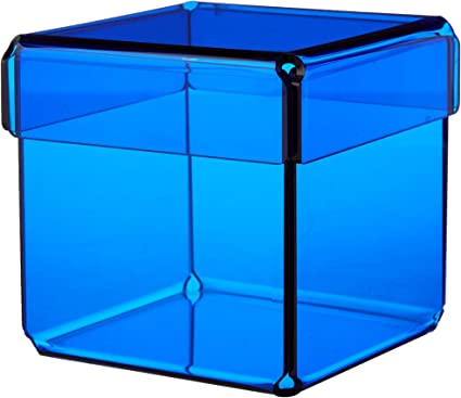 CAJA METACRILATO DADDO COLORES (Azul translúcido): Amazon.es ...