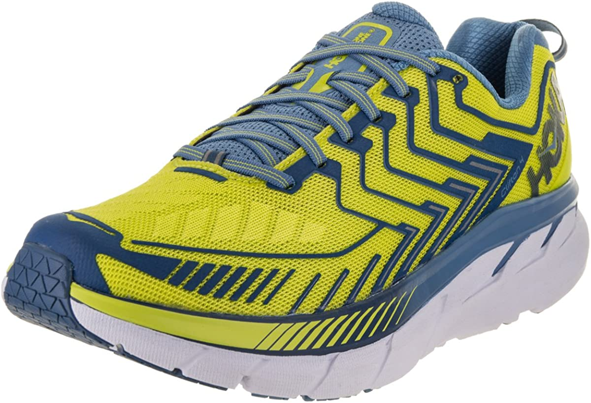 HOKA ONE ONE Mens Clifton 4 Running Shoe