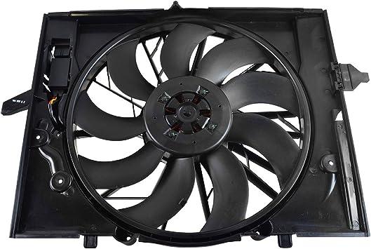 New Radiator Cooling Fan Assembly fits BMW 525i 528i 530i 545i 645Ci 750i 750Li