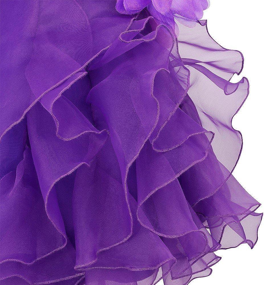 iiniim Vestido Ni/ñas 0 a 3 A/ños Falda de Tut/ú con Diamantes de Imitaci/ón Flor Bowknot Vestido de Organza para Fiesta Cumplea/ños Bautizo para Beb/é Ni/ña