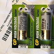 Amazon Com Gp 12v Alkaline Batteries Size 23a 2 Pack