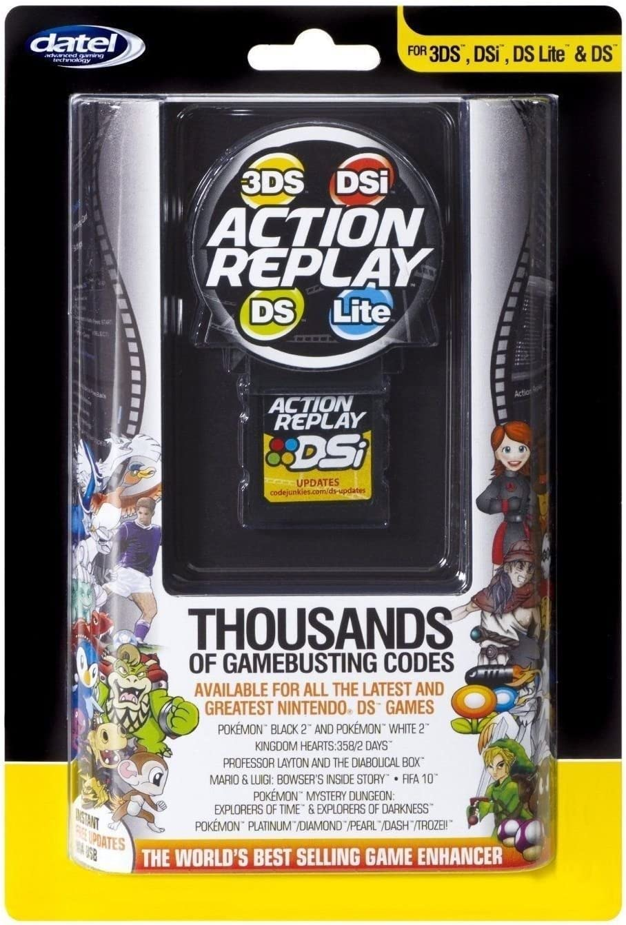 Amazon com: Action Replay for Nintendo 3DS, DSI, DS Lite and
