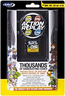 Action Replay for Nintendo 3DS, DSI, DS Lite     - Amazon com
