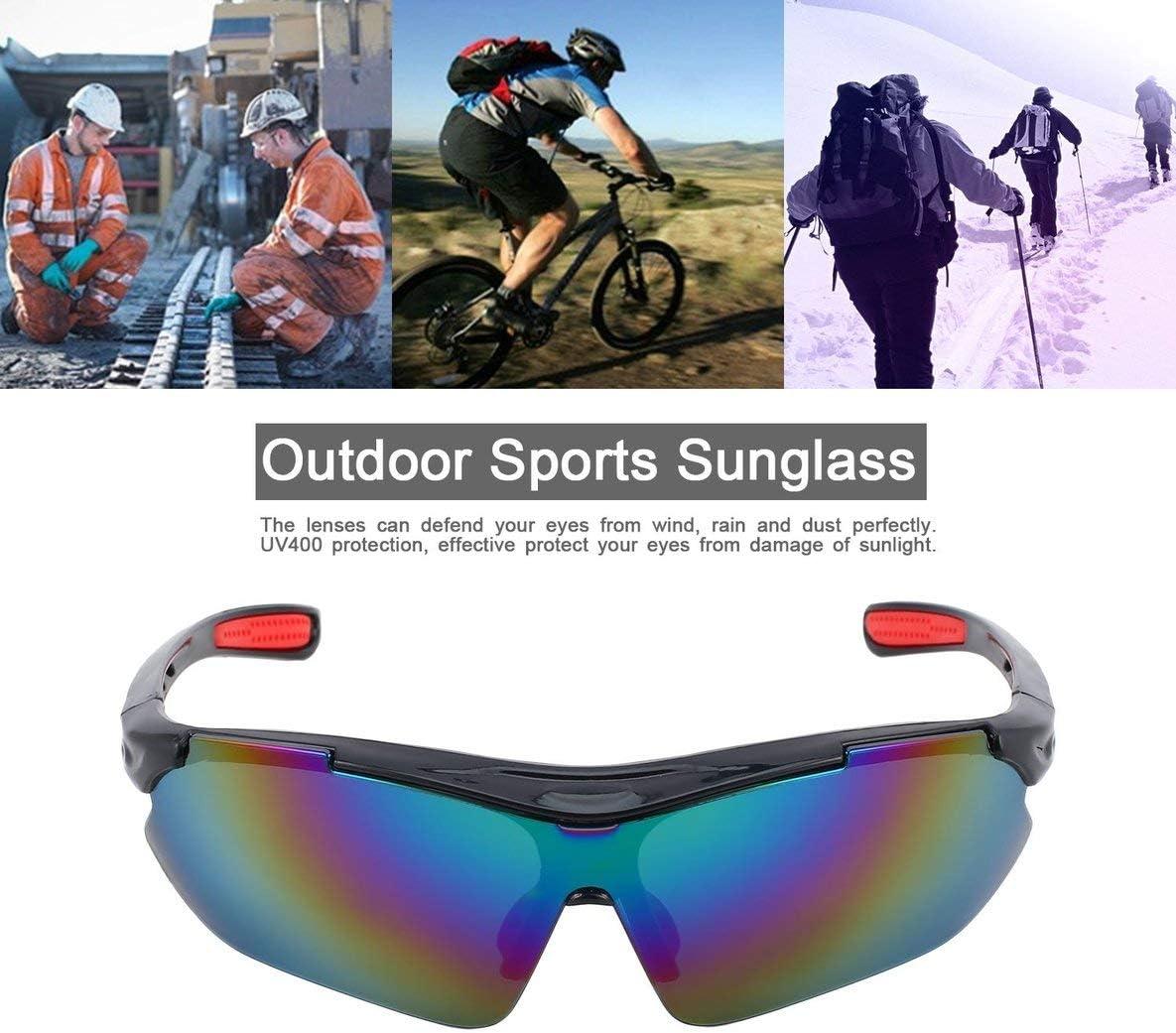 Noradtjcca Polarizzati Sport Occhiali da Sole per Uomo Donna Ciclismo Corsa Guida