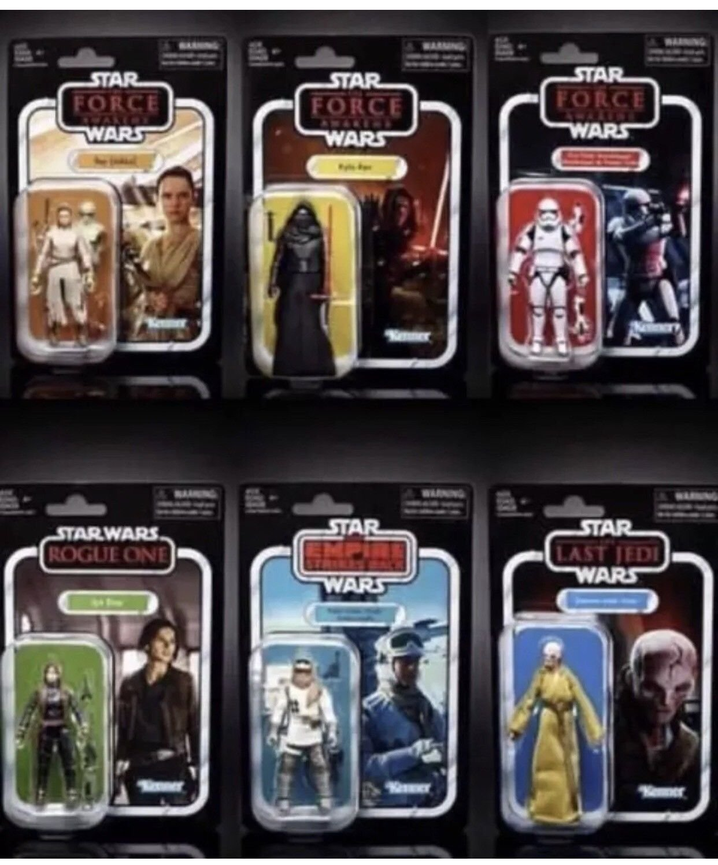 Star Wars Vintage Collection 2018 Wave 1-3.75' -Set of 6
