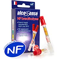 AlcoSense French NF Certified Breathalyzers for France - Breathalysers (Twin Pack)