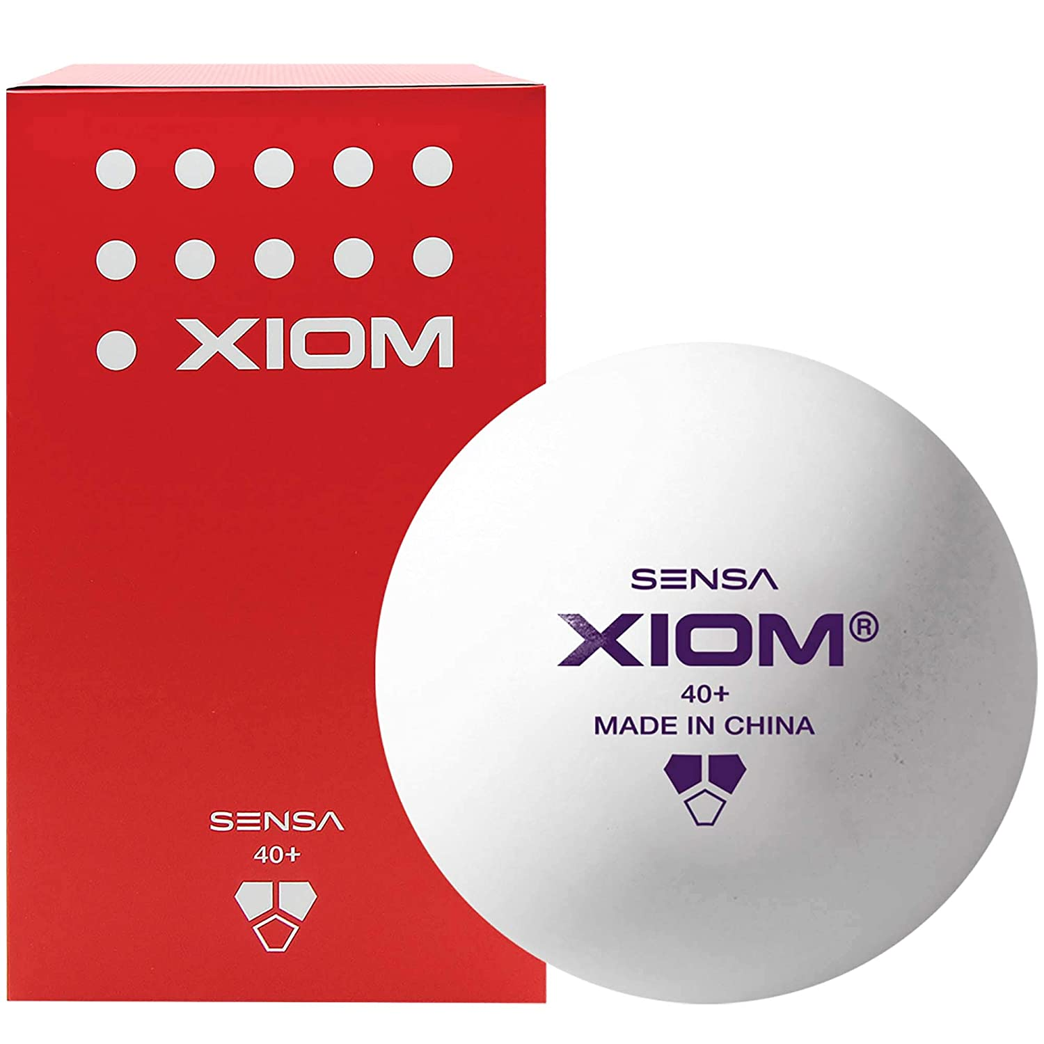 XIOM 100 SENSA LIFETIME+ PRACTICE TRAINING ABS 2 STAR POLY BALLS