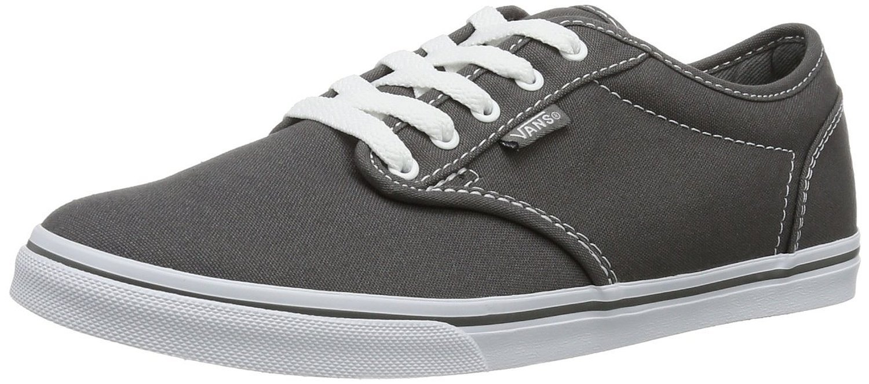 Vans Women's Atwood Low Fashion Sneakers Shoes B01N35DJ8D 5 B(M) US Pewter/White