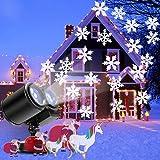 a91e9585982 GESIMEI Proyector Navidad LED Nieve Luz del Proyector con Control ...