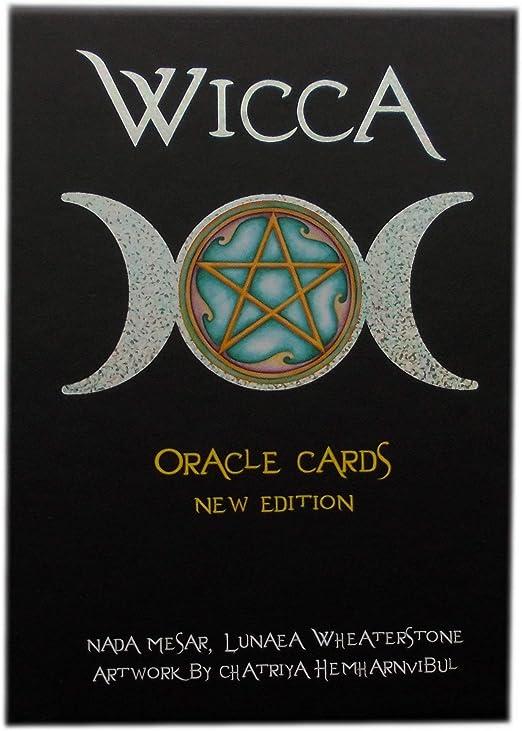 Green Cross Toad Wicca Oracle por Lunaea Wheaterstone, Set en Caja Dura con Mazo de 32 Tarjetas y Guía Multilingüe: Amazon.es: Hogar