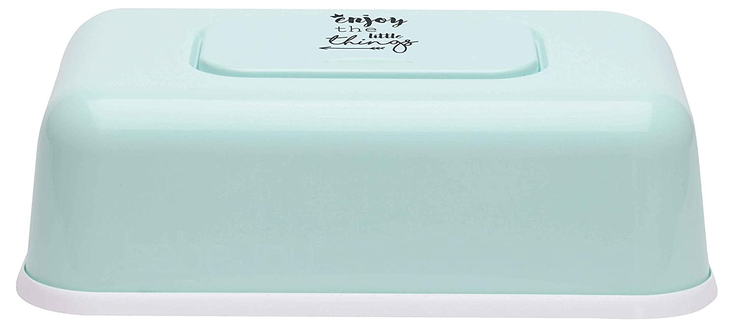 Bebe-jou 6230104 Caja para toallitas Lucky Quotes Mint, color verde: Amazon.es: Bebé