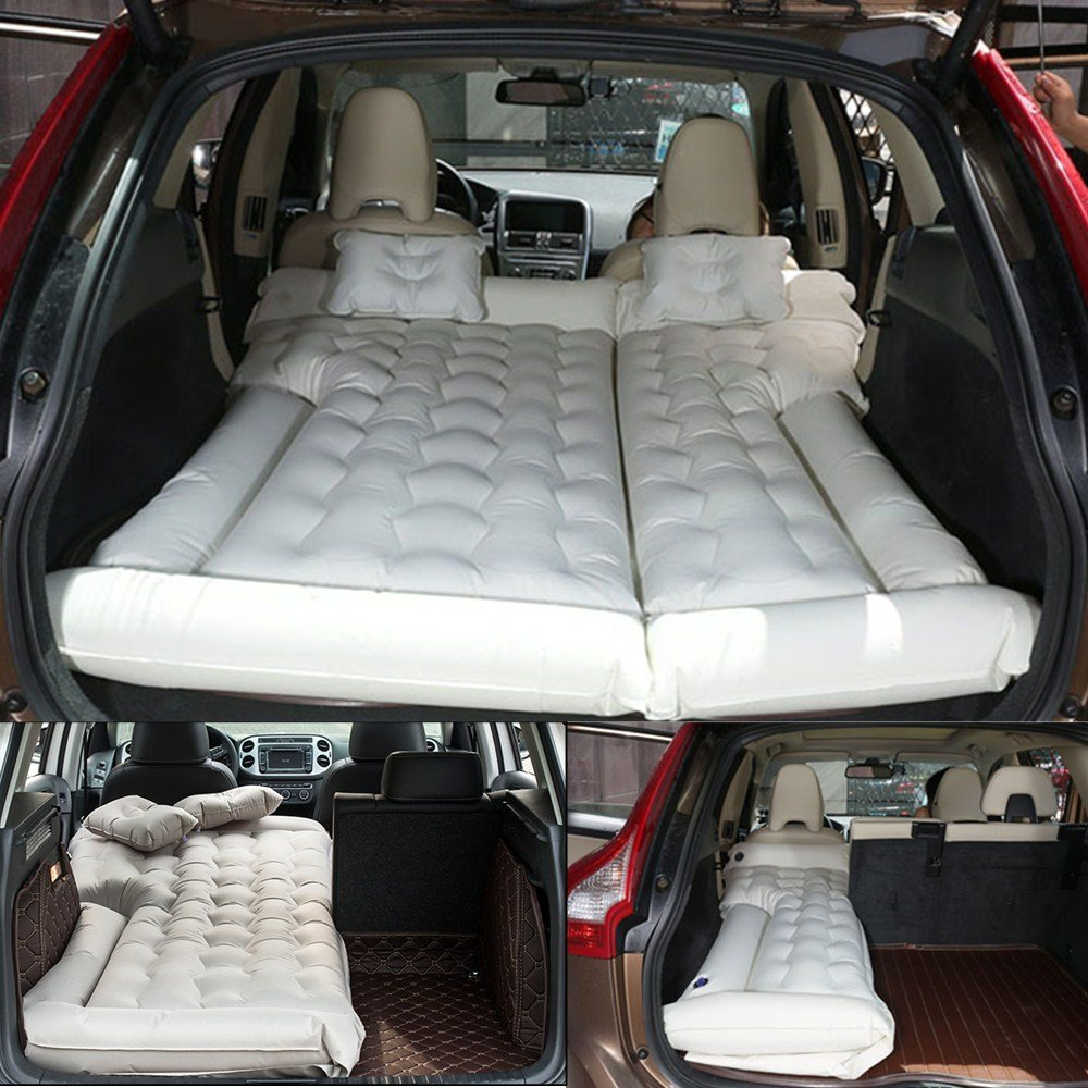 goldhik SUV Car Travel Inflatable Mattress Camping Air Bed Dedicated Mobile Cushion Extended Outdoor for SUV Back Seat
