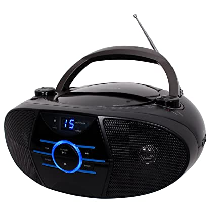 amazon com jensen cd 560 portable stereo cd player with am fm rh amazon com emerson 3 compact disc player manual Emerson CD and Cassette Player