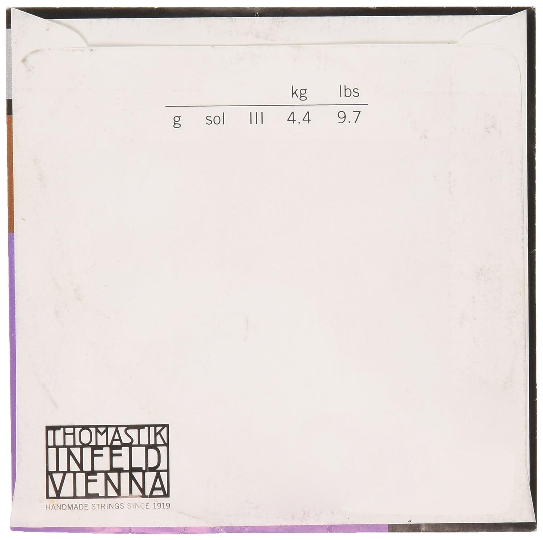 Thomastik Saiten 138W 4//4weich Silver Wound für Viola G.637009 G Saiten