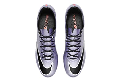 deea9c3f8b2 NIKE Mercurial Vapor X FG Soccer Cleats (Urban Lilac Black Bright Mango)