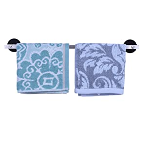 LEKUSHA 16 Inches Magnetic Towel Bar Towel Rack Dish Hand Tea Towel Holder Dishcloth Hook Hanger for Refrigerator, Kitchen Stove, Oven, Dishwasher, Sink, Laundry Washing Machine