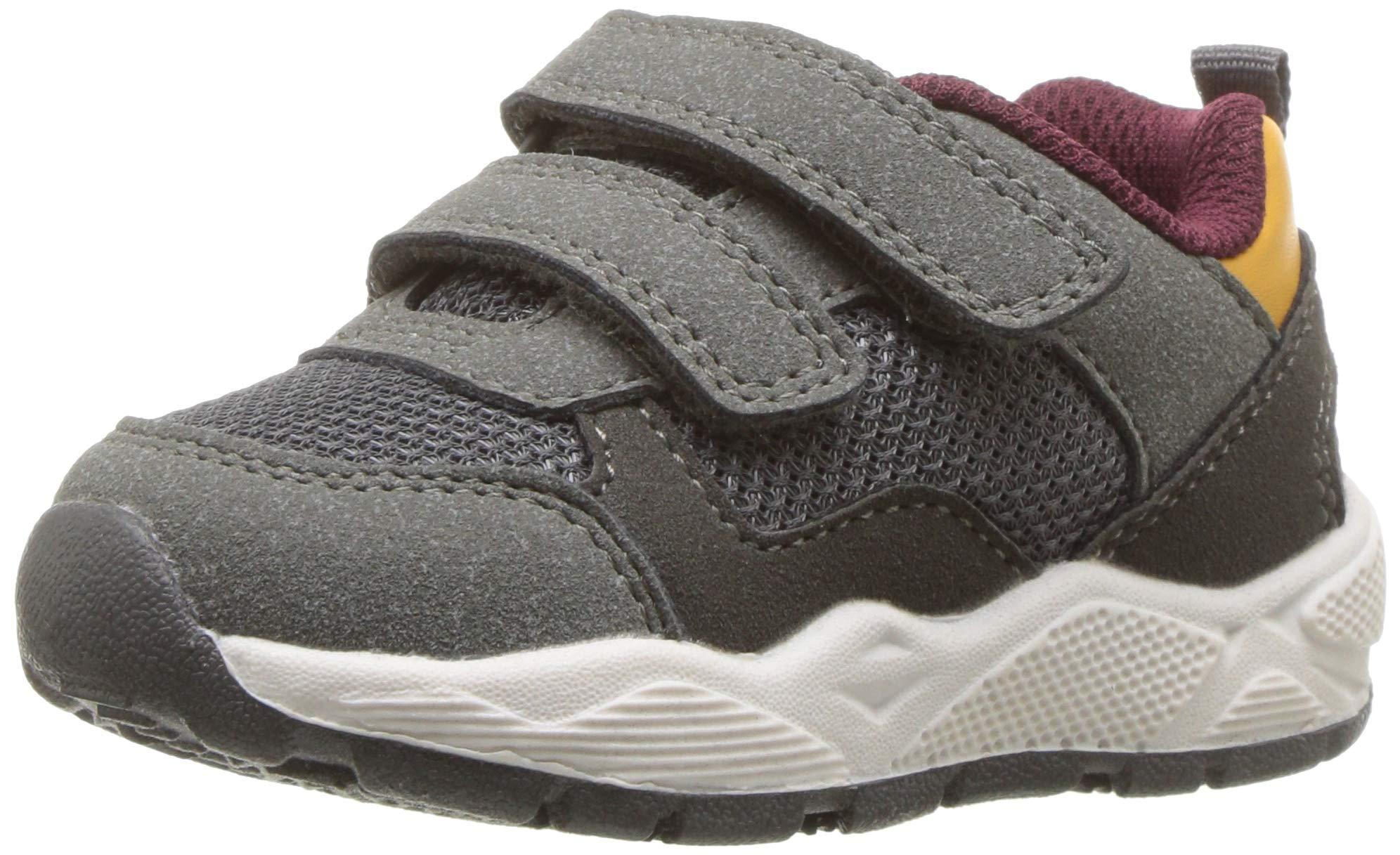 Carter's Boys' Blakey-B Casual Sneaker, Grey, 6 M US Toddler