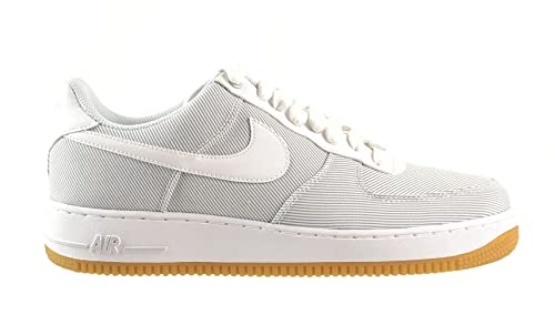 the latest ca922 5c7d5 Nike Air Force 1 Men s Shoes Pure Platinum White-Gum Light Brown 488298-