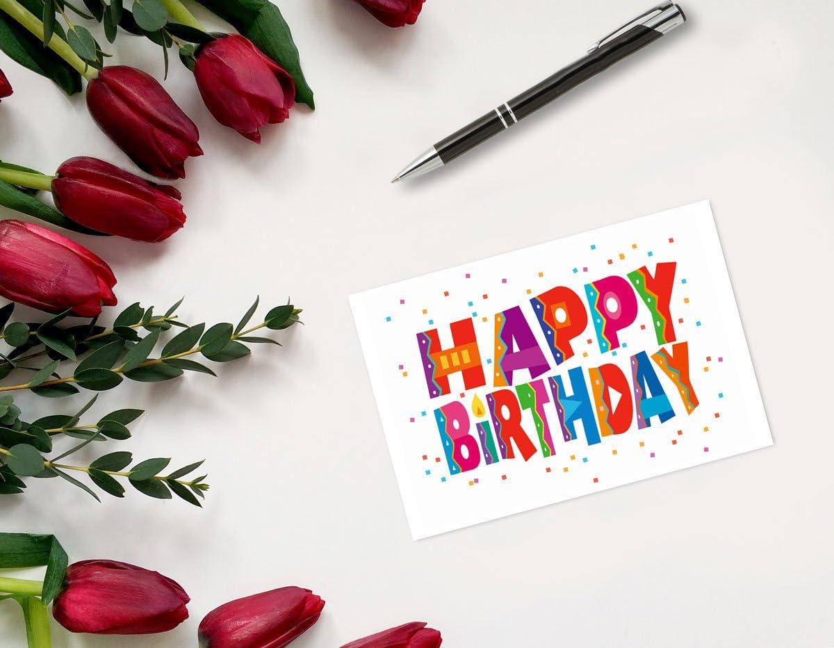 Happy Birthday Postcards 50 Fun Birthday Cards 4 x 6 Birthday Postcards