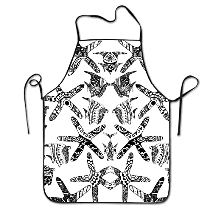 amazon chefs apron aztec starfish and fish funny kitchen aprons Ancient Aztec Courts image unavailable