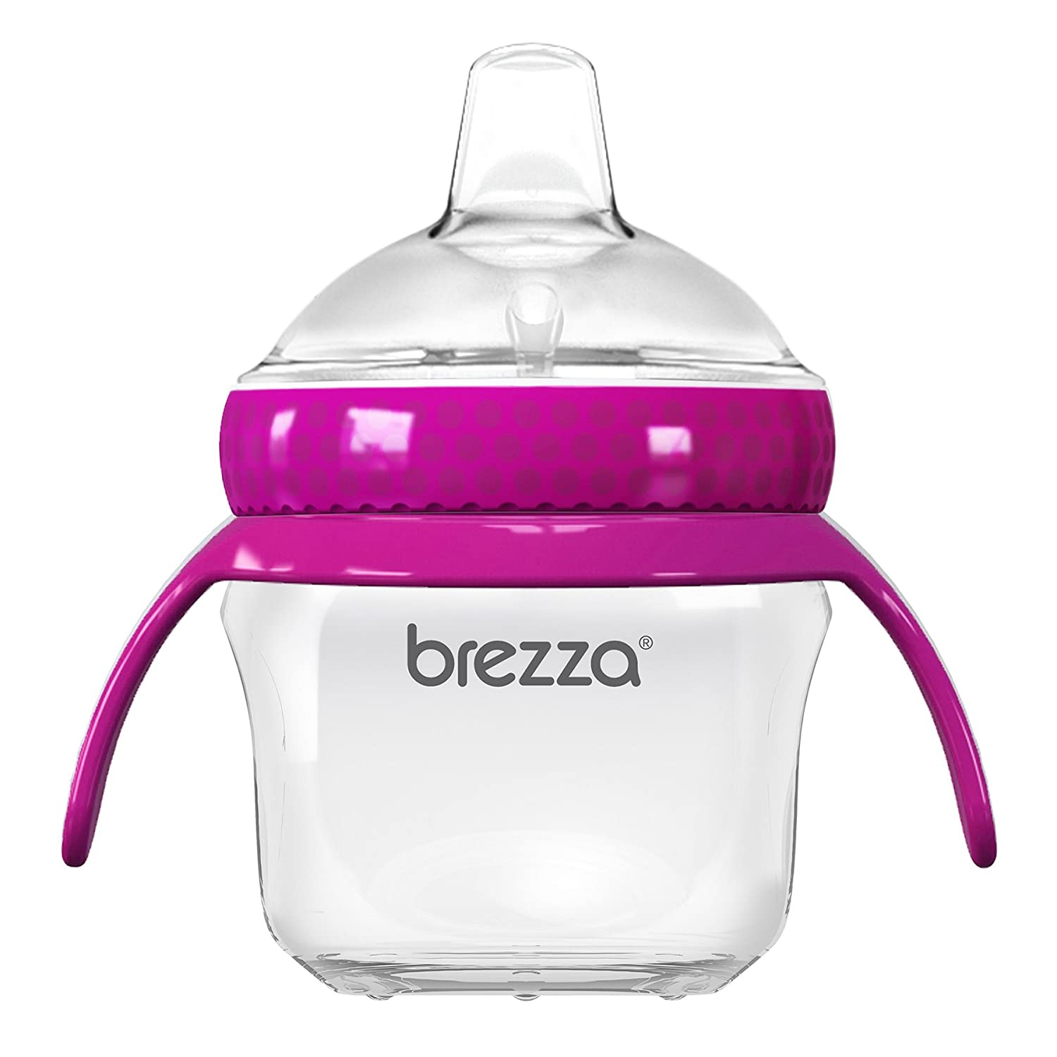 Baby Brezza Transition Cup, Clear/Pink BZB00201