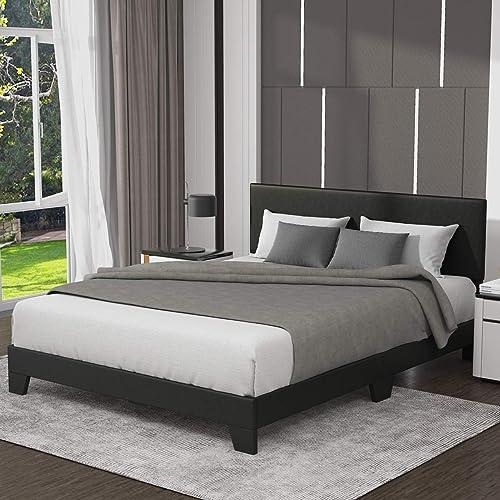 Allewie Full Size Upholstered Platform Bed Frame