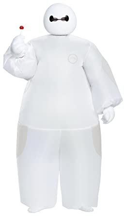 Amazon.com: Blanco Baymax hinchable Niño Disfraz – Talla ...