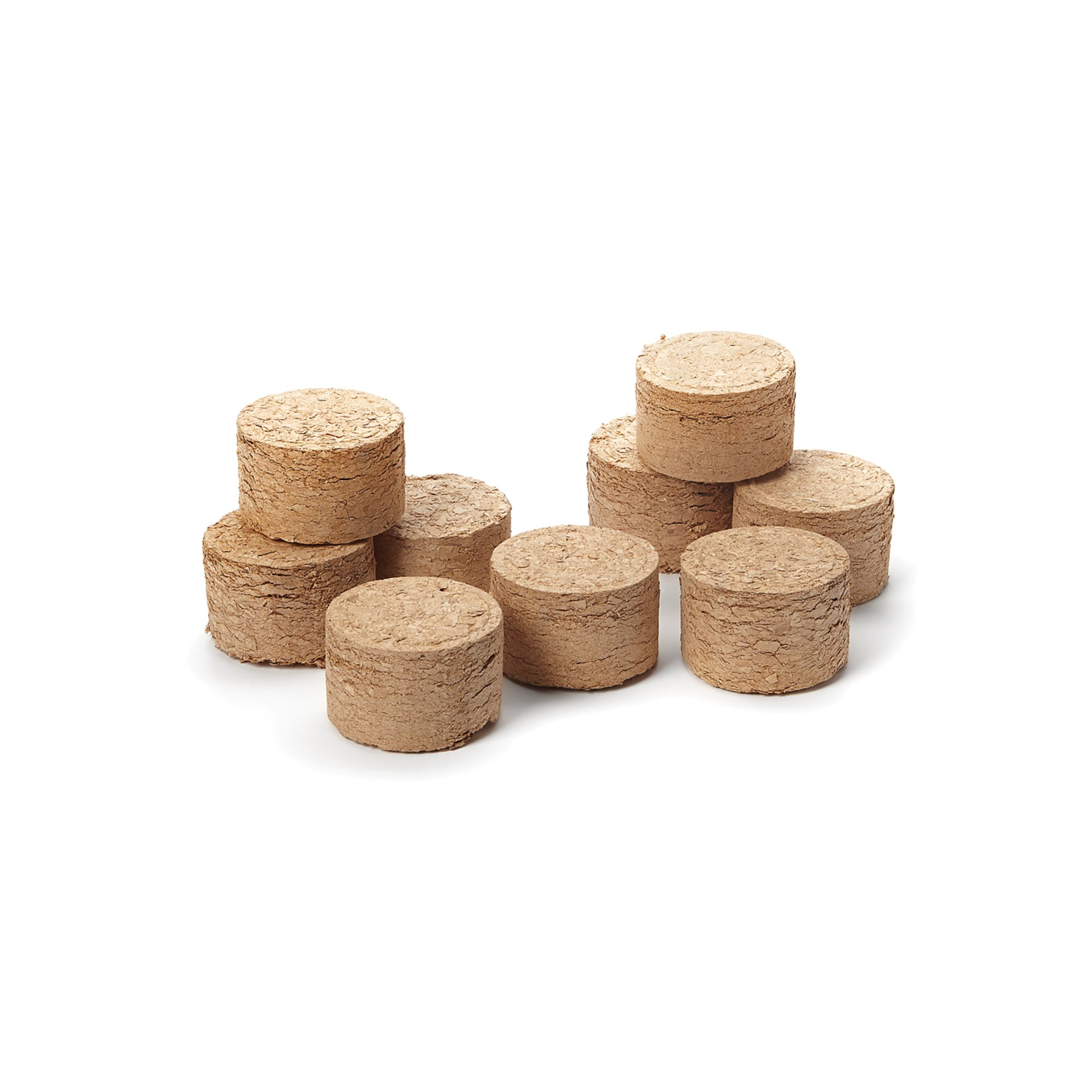 Outset 76354 Wood Chip Smoking Pucks, Apple, Maple and Hickory, Set of 9