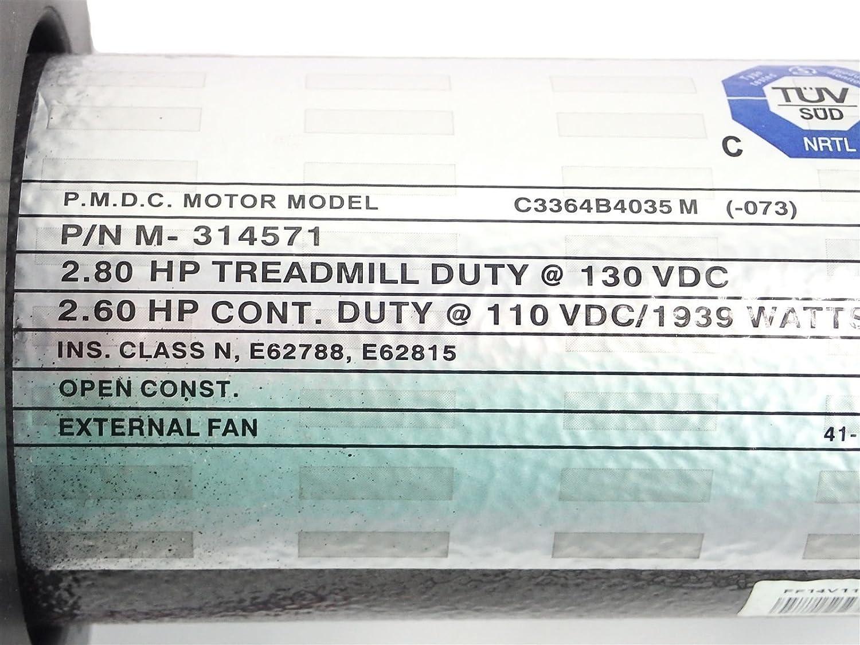 Icon Health & ~Fitness, Inc. Motor de transmisión 314571 Funciona ...