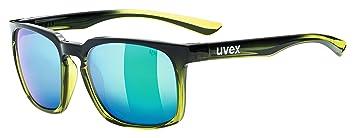 Uvex lgl 35 Sport Gafas, Unisex, Color Black Green, tamaño ...