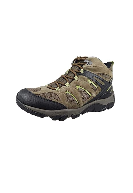 Merrell Scarpe da Trekking ultraperiferiche Mid GTX Vent Boulder Olive  Brown Gore-Tex Outdoor J09507  Amazon.it  Scarpe e borse a995bb5ec84