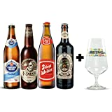 4 pack de cervezas europeas 1 + Copa EuroCervezas 540 ml